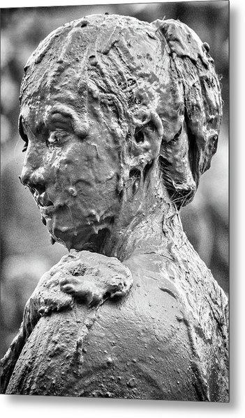 Me Mudder Metal Print by Winnie Chrzanowski