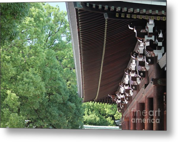 Meiji Shrine Metal Print