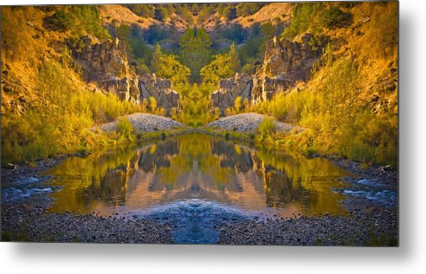 Middle Fork Magic 2 Metal Print