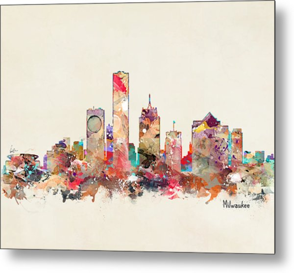 Milwaukee Wisconsin Metal Print