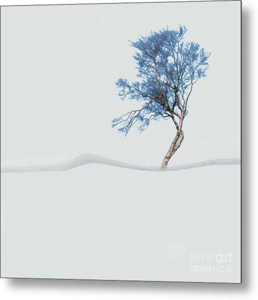 Mindfulness Tree Metal Print