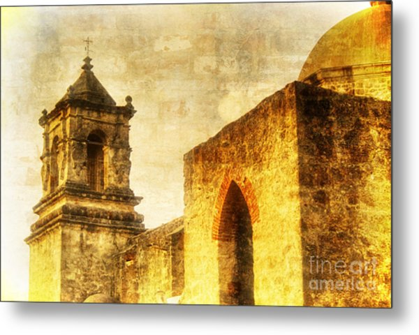 Mission San Jose San Antonio, Texas Metal Print
