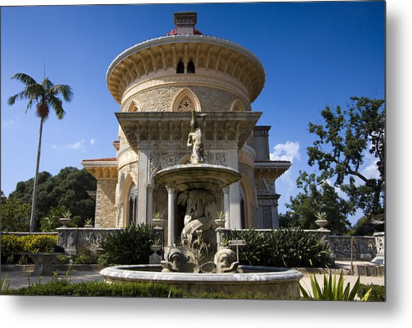 Monserrate Palace Metal Print by Andre Goncalves