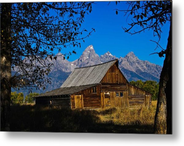 Metal Print featuring the photograph Moulton Barn by Norman Hall