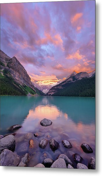 Mountain Rise Metal Print