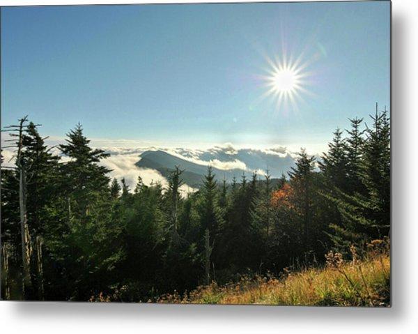 Mt Mitchell Landscape Metal Print