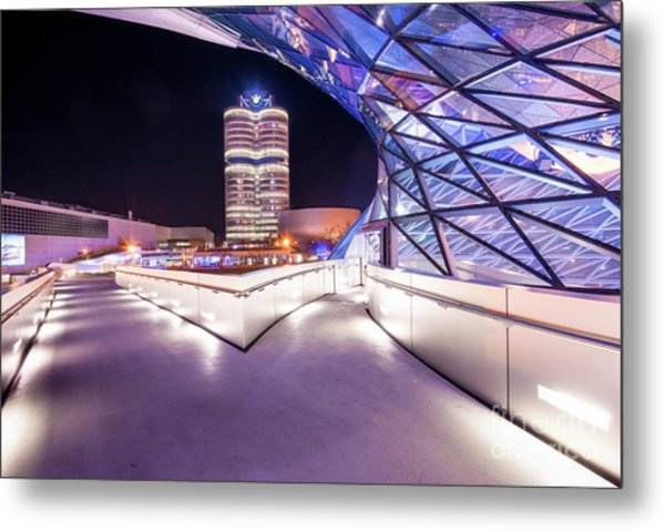 Munich - Bmw Modern And Futuristic Metal Print