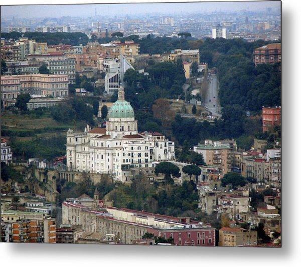Naples Italy Metal Print