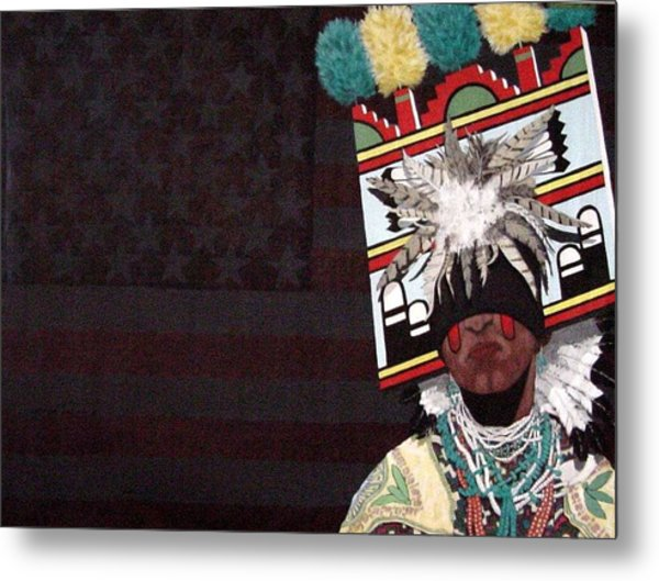 Native Dancer Metal Print