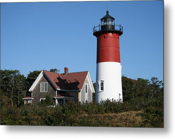 Nauset Lighthouse Metal Print