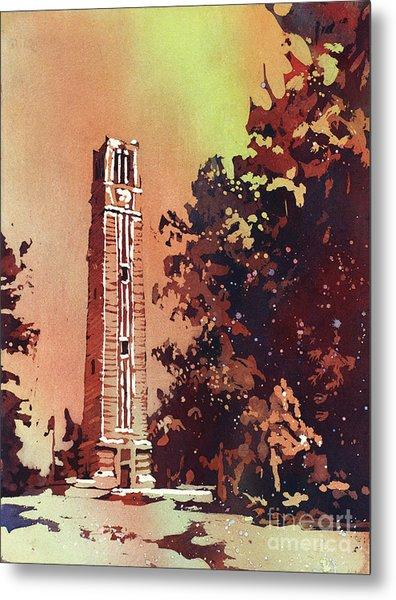 Ncsu Bell-tower Metal Print