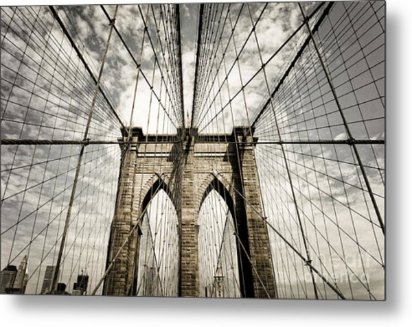 Metal Print featuring the photograph New York by Juergen Held