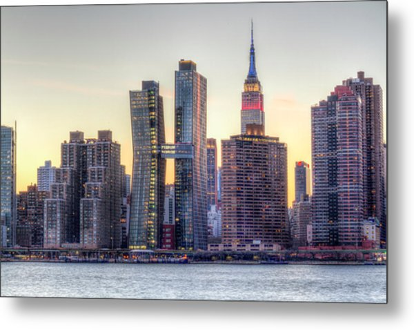 New York Spirit Metal Print by Zev Steinhardt