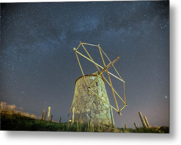 Metal Print featuring the photograph Night Sky  by Bruno Rosa