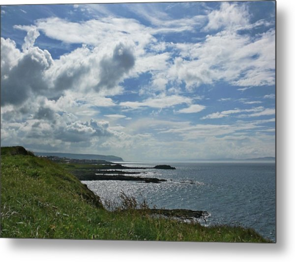 North Coast Cloudscape Metal Print