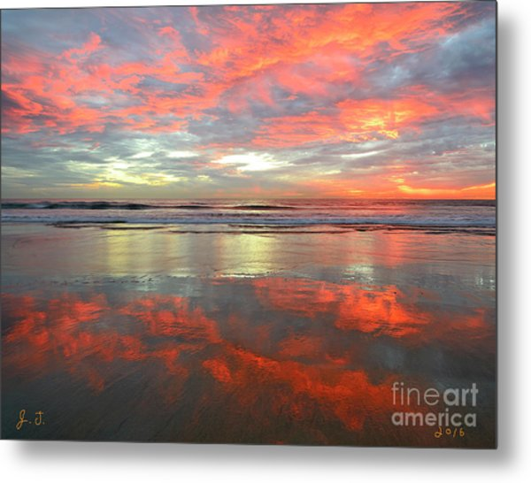 North County Reflections 48x60 Inches Metal Print