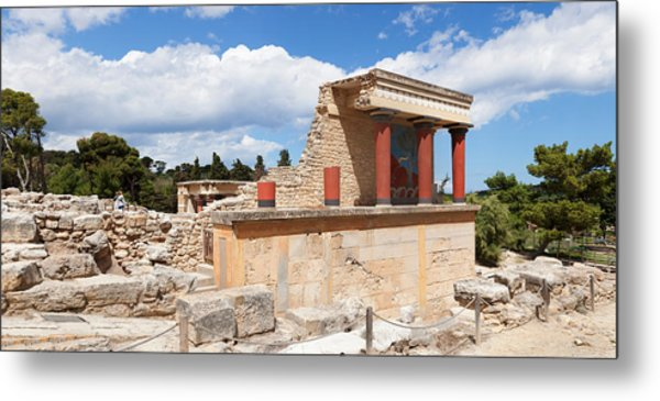 North Entrance Of Minoan Palace Metal Print