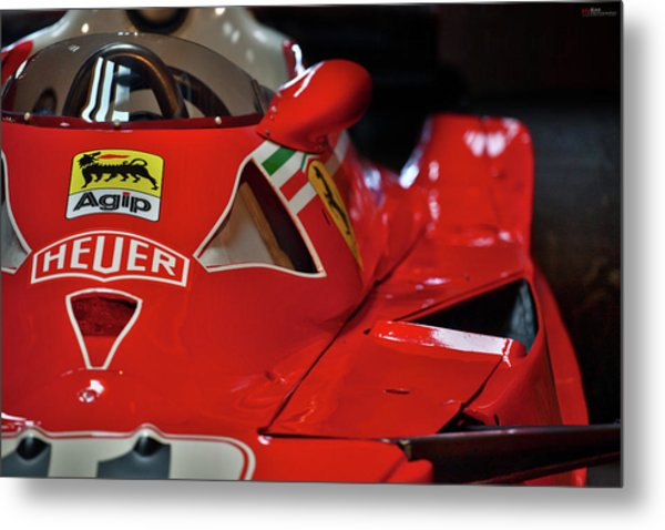 Metal Print featuring the photograph Number 11 By Niki Lauda #print by ItzKirb Photography