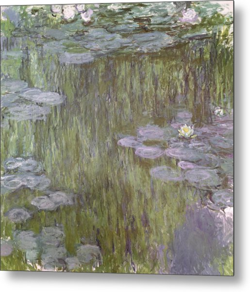 Nympheas At Giverny Metal Print