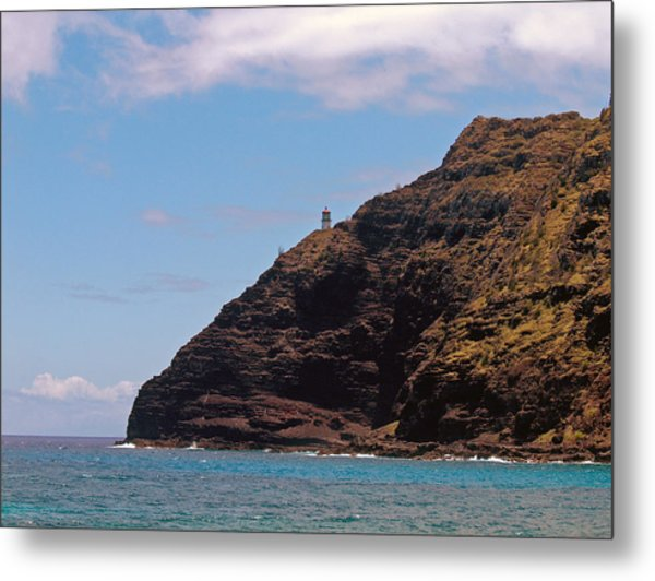 Oahu - Cliffs Of Hope Metal Print