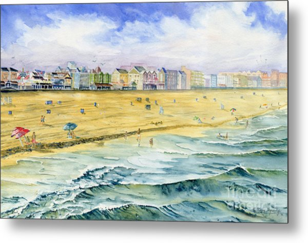 Ocean City Maryland Metal Print