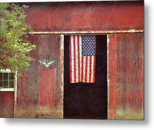 Old Glory Metal Print by JAMART Photography