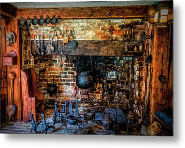 Old Kitchen Metal Print