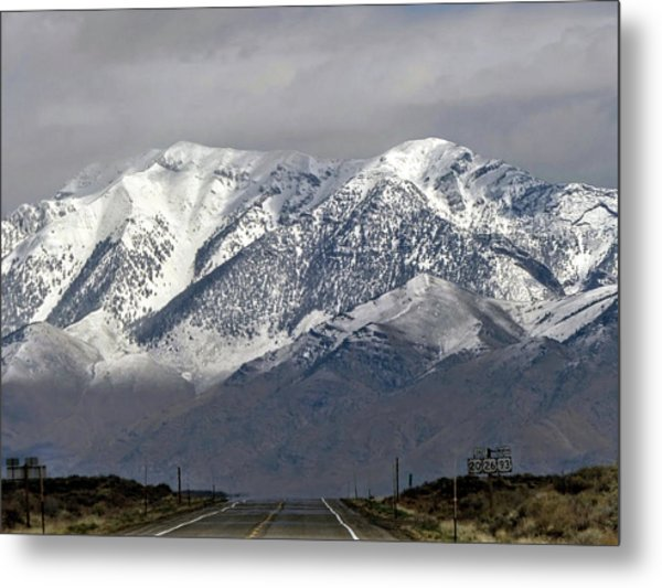 On The Road Series Metal Print