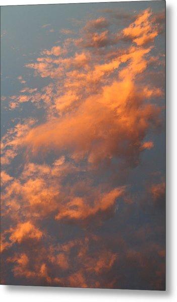 Orange Sky Metal Print by Brande Barrett