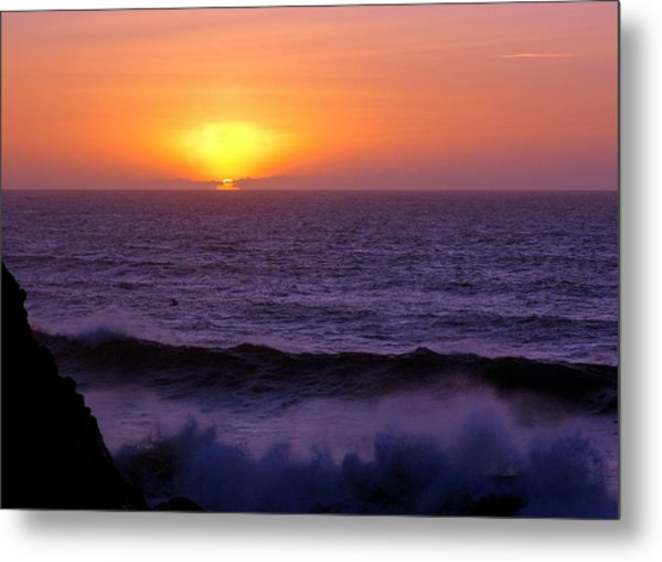 Oregon Sunset Metal Print by Scott Gould
