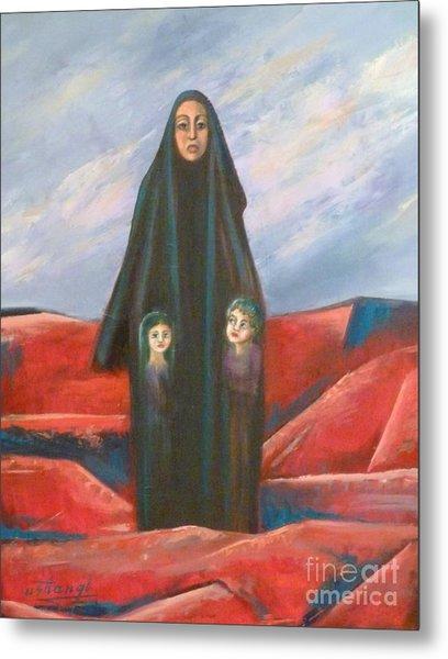 Orphans Metal Print by Ushangi Kumelashvili