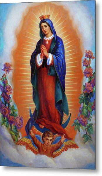 Our Lady Of Guadalupe - Virgen De Guadalupe Metal Print
