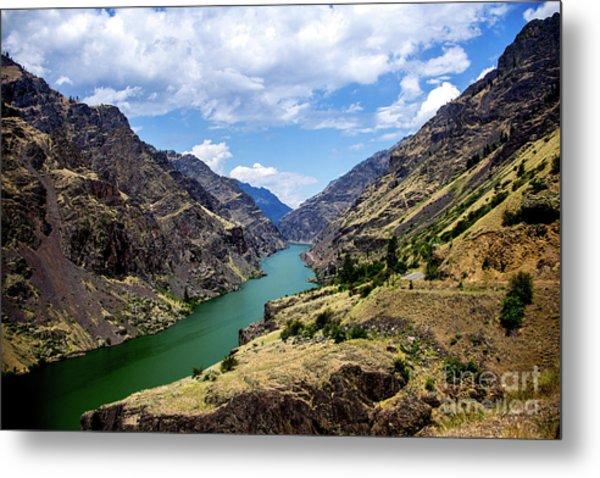 Oxbow Dam Tailwater Idaho Journey Landscape Photography By Kaylyn Franks  Metal Print
