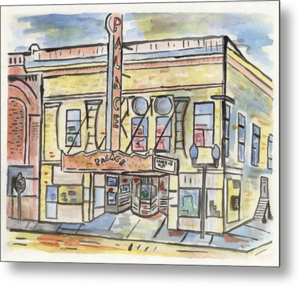 Palace Theater Metal Print