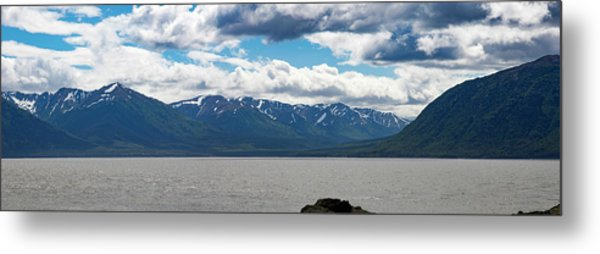 Panorama Of Beluga Point Metal Print