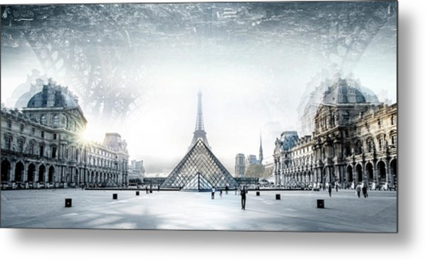 Paris Metal Print by Ivan Vukelic