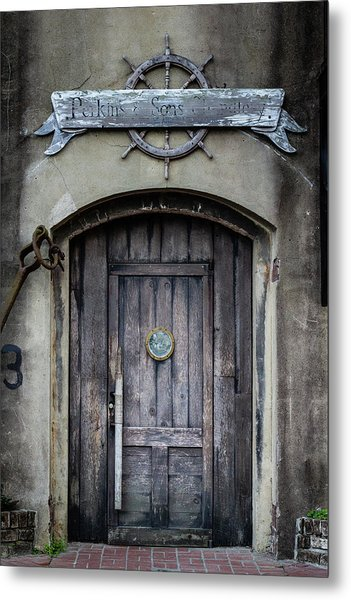 Perkins And Sons Door Metal Print