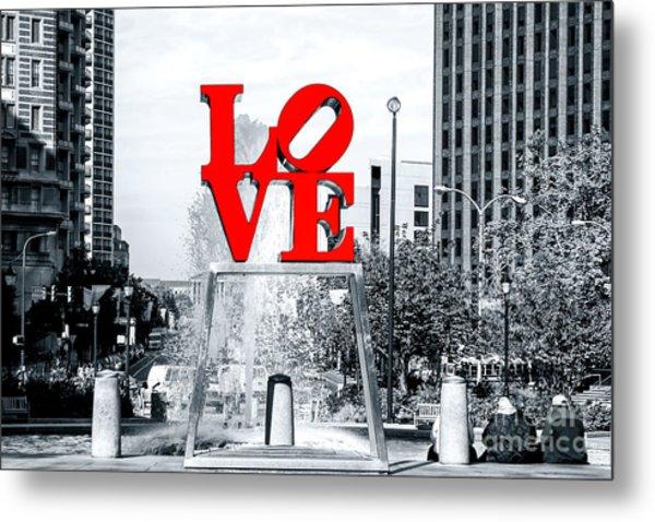 Philadelphia Love 2005 Metal Print