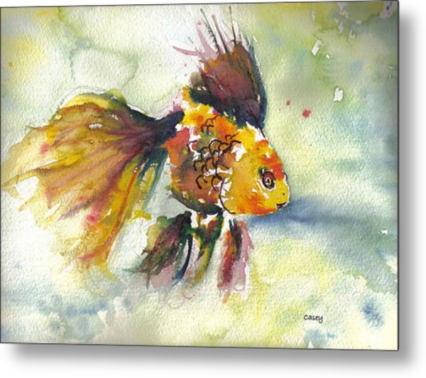 Phyco Fishy Metal Print