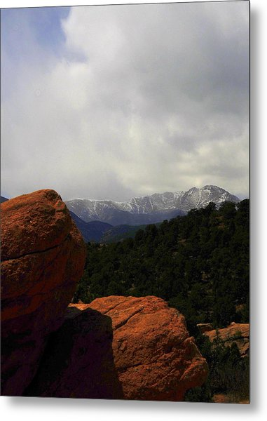 Pikes Peak Metal Print by Patrick  Short