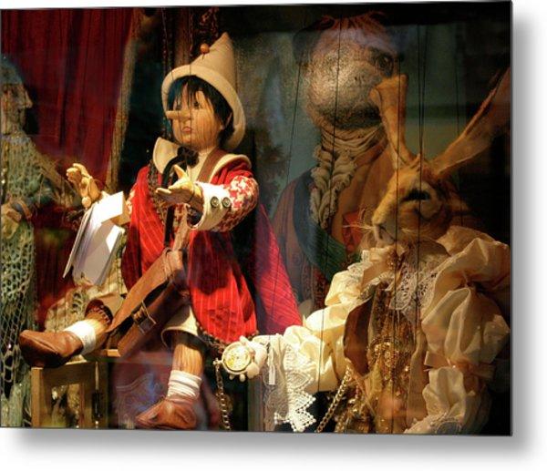 Pinocchio In Venice Metal Print