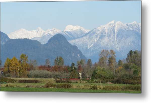 Pitt Meadows Metal Print