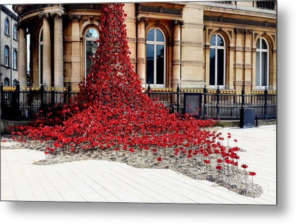 Poppies - City Of Culture 2017, Hull Metal Print