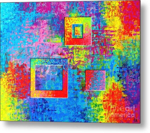 Portals Of Color Metal Print