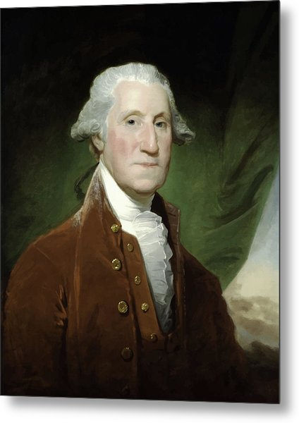 President George Washington  Metal Print