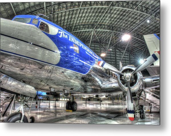 Presidential Aircraft - Douglas Vc-118, The Independence  Metal Print