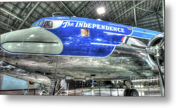 Presidential Aircraft - The Independence, Douglas, Vc-118  Metal Print