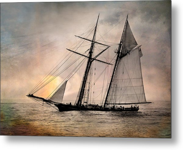 Pride Of Baltimore II Metal Print