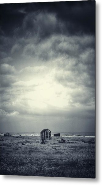 Projekt Desolate The Distance  Metal Print by Stuart Ellesmere