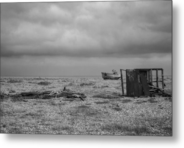 Projekt Desolate The Triple Metal Print by Stuart Ellesmere